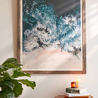 Ingrid Beddoes I Love The Sea Art Print   Urban Outfitters