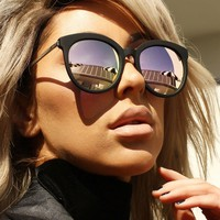 Quay X Chrisspy Jetlag Sunglasses in Black/Rose