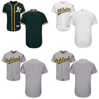 2016 Flexbase Authentic Collection Men's Oakland Athletics blank baseball jerseys Stitched