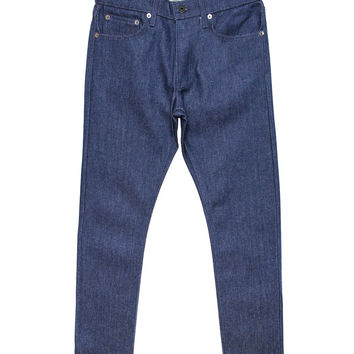 Kennedy Denim Co. - Blue Label Premium Raw Denim (Broken Twill Indigo)
