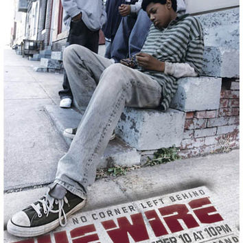 The Wire No Corner Left Behind Poster 11x17