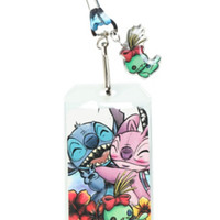 Disney Lilo & Stitch Angel Hug Lanyard
