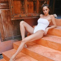 Teaberry One Piece White