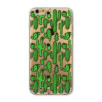 Trendy Cactus Hard Phone Back Cover Case For Apple iPhone 6 6s