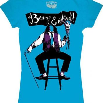 Benny and Joon Movie Poster Juniors Tee