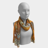 Rusted Metal Long Scarf