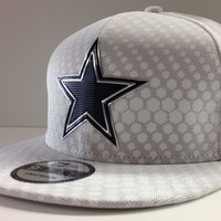 Dallas Cowboys New Era NFL 9FIFTY Color Rush Sideline On Field Snapback Cap Hat
