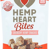 Manitoba Harvest Hemp Heart Bites - Cinnamon - 4 Oz - Case Of 12