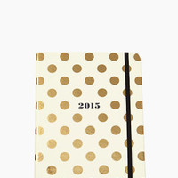 Set the Stage 17-month Large Agenda - Gold Dots - kate spade new york