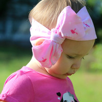 Pink Meadows Head Wrap