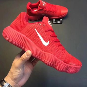 Nike Hyperdunk Knitted low permeable basketball shoes-1
