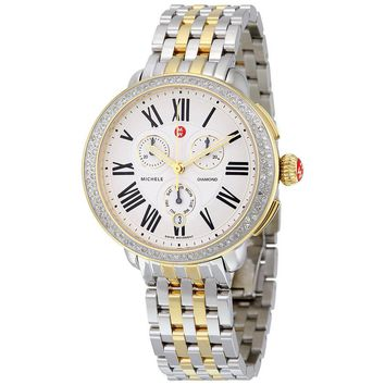 Michele Serein Two-tone Steel Watch MWW21A000008
