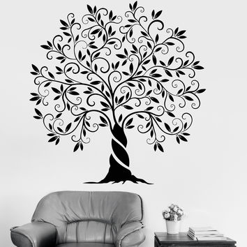 Vinyl Wall Decal Family Tree Of Life Nature Garden Home Decoration Stickers Unique Gift (1200ig)