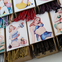 Bachelorette Gift Accessory Hair Pin Boxes : Bobby Pins Included