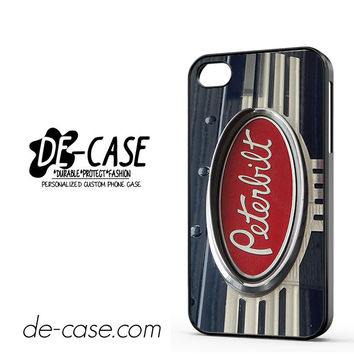 Peterbilt Truck Logo DEAL-8571 Apple Phonecase Cover For Iphone 4 / Iphone 4S