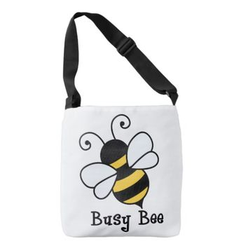 Busy bee2 tote bag