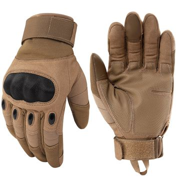 Army Tactical Hard Knuckle Full Finger Gloves Military Paintball Airsoft Combat Bicycle Shooting Antiskid Fighting Workout New