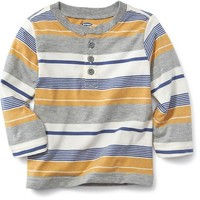 Striped Henley for Baby