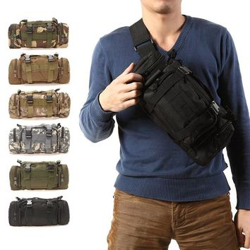 3L Outdoor Men Waist Bag Pack Sports Travel Backpack.