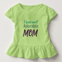 Mothers day special- Adorable Mother design Toddler T-shirt