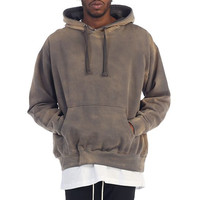 EPTM Power Washed Hoodie In Grey