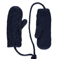 Cable Knit Mittens