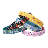 Pokemon Characters Rubber Bracelet 5 Pack