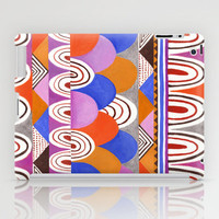 Abstract Hills iPad Case by Janet Broxon