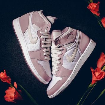 "Jordan 1 Heiress ""Plum Fog"""