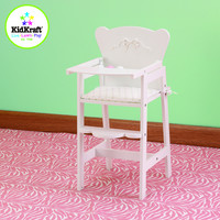 KidKraft Tiffany Bow Lil' Doll High Chair (accommodates American Girl® dolls) - 61111