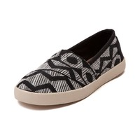 Womens TOMS Avalon Tribal Casual Shoe