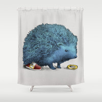 Sonic (square format) Shower Curtain by Eric Fan