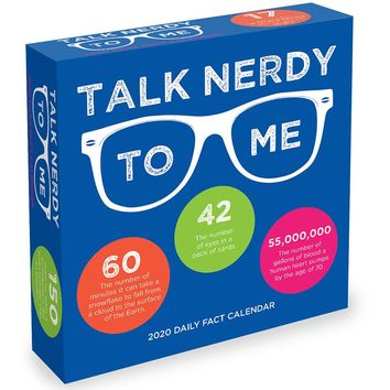 Talk Nerdy to Me. STATS, FACTS, TRIVIA! Daily Page Desktop