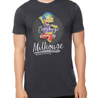The Simpsons Coming Up Milhouse T-Shirt