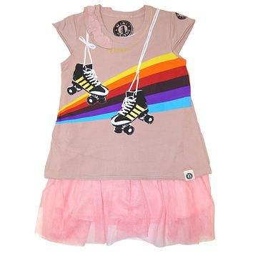 Roller Skate Tutu Baby Dress by: Mini Shatsu