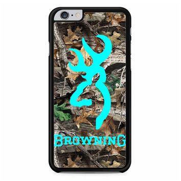 Mint Deer Camo Browning iPhone 6 Plus/ 6S Plus Case