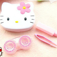 Hello Kitty storage kit for contact lens