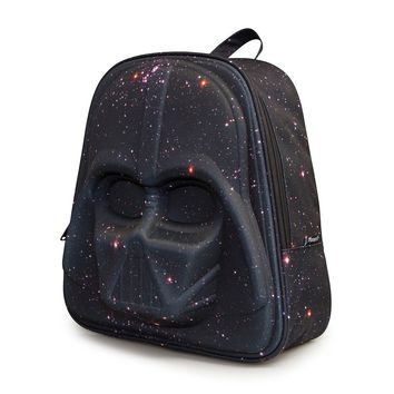 Star Wars Galaxy Print Darth Vader 3D Backpack - Backpacks