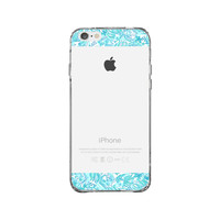 Lilly Pulitzer Alpha Delta Pi Sorority iPhone 6 Clear Case