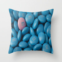 M&M'S Throw Pillow by Sjaefashion | Society6