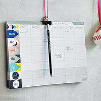 Weekly Planner Pad With Magnetic Pencil