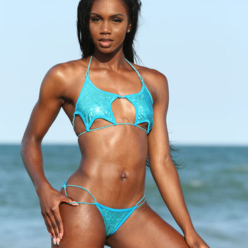 Custom Made Star String Bikini-Custom Bikinis