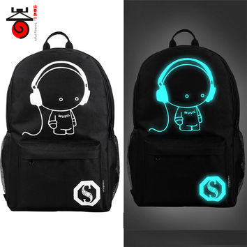 Noctilucent Backpack luminous