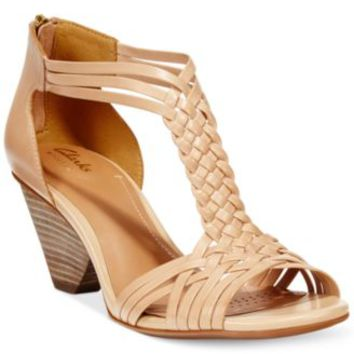 Clarks Artisan Women's Ranae Monique Dress Sandals | macys.com