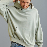 FairPlay Howell Velour Hoodie Sweatshirt | Urban Outfitters