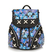 Floral Rave Stitch Backpack - Bags & Wallets - Bags & Accessories - Topshop USA