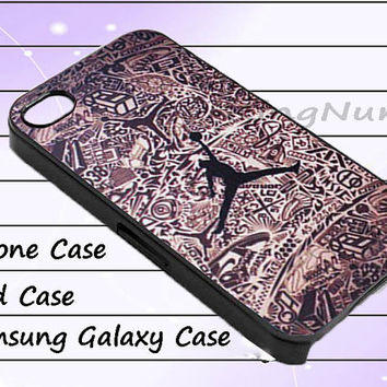 air jordan pattern for iphone 4/4S, iPhone 5/5S/5C, Samsung Galaxy S3/S4, iPod Touch 4/5, htc Case