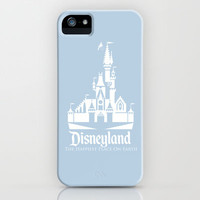 Disneyland - Blue iPhone & iPod Case by MargaHG