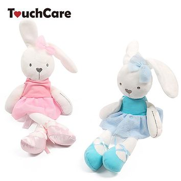 Cute Bunny Baby Soft Plush Toys Stuffed Animals Kids Baby Toys Smooth Obedient Sleeping Rabbit Doll Infant Appease Doll
