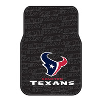 Houston Texans NFL Car Front Floor Mats (2 Front) (17x25)